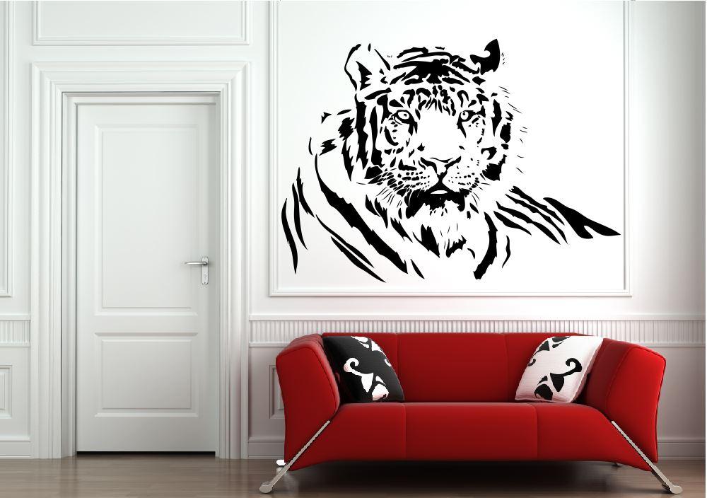 Peknyobraz Sk Nalepka Na Stenu Tiger